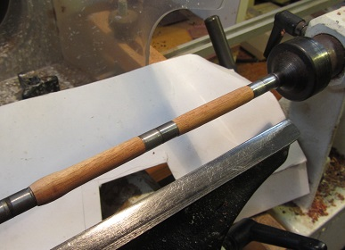 Stage 5 of making a pen